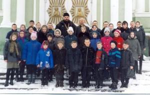 Ученики воскресной школы с. Алово