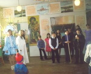 Рождественские праздники в воскресной школе