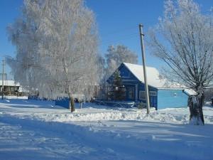 Типичный для села Алово дом